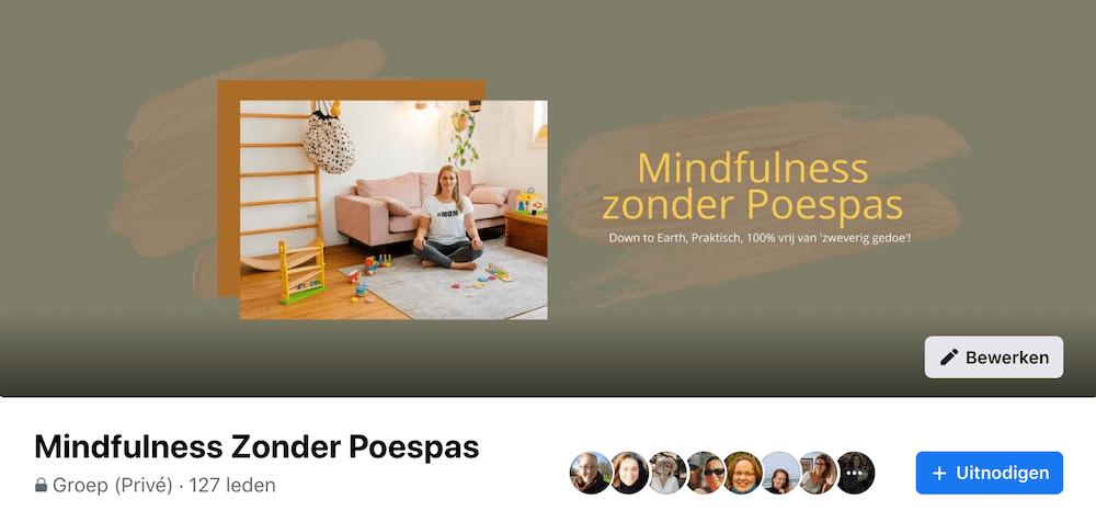 mindfuness zonder poespas facboek