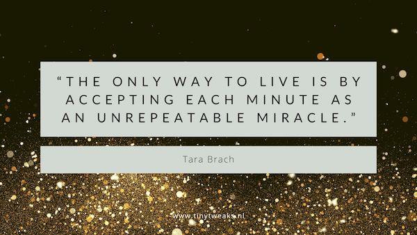 Tara Brach citaat mindfulness