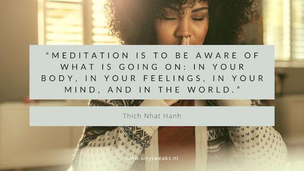 Thich Nhat Hanh citaat