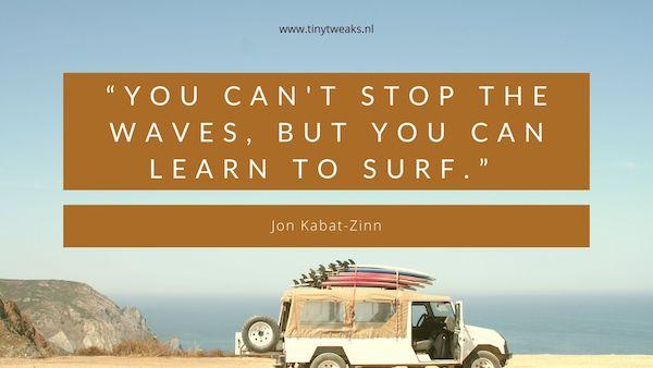 Jon Kabat-Zinn quote mindfulness