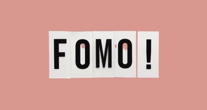 5x tips voor omgaan met FOMO (fear of missing out)