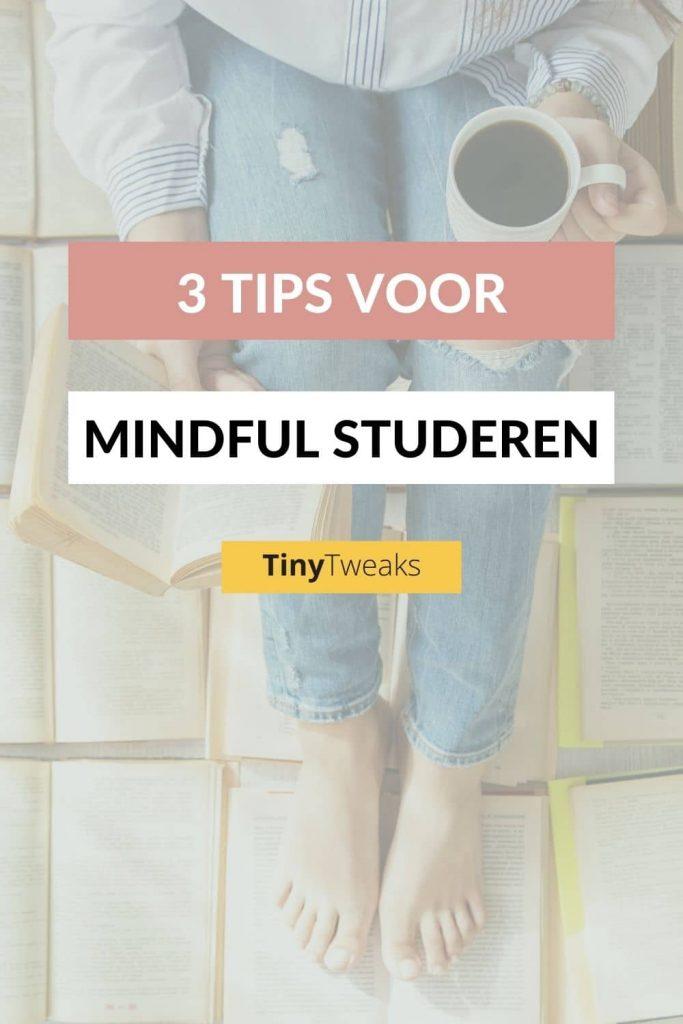 mindful studeren tips