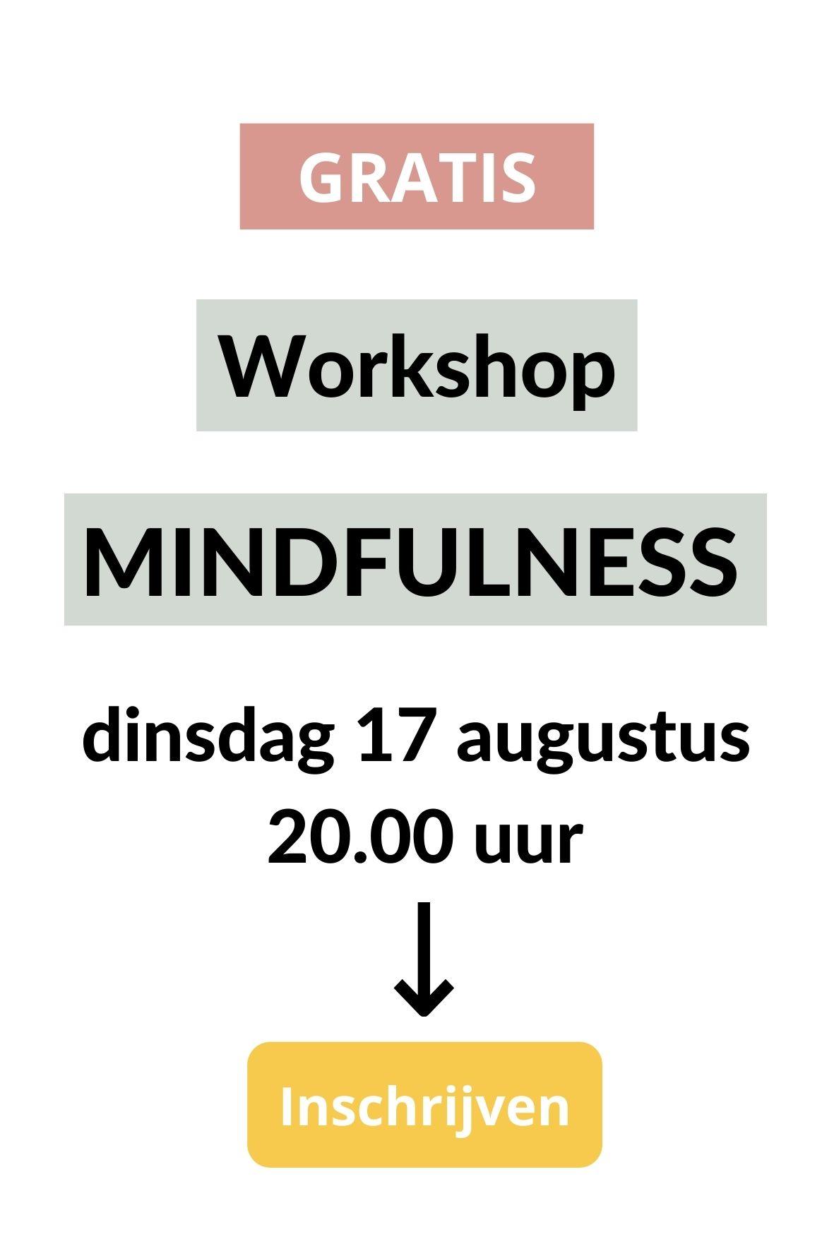 workshop mindfulness