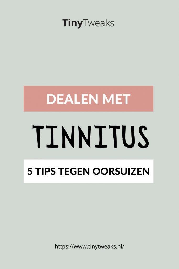 behandeling tinnitus